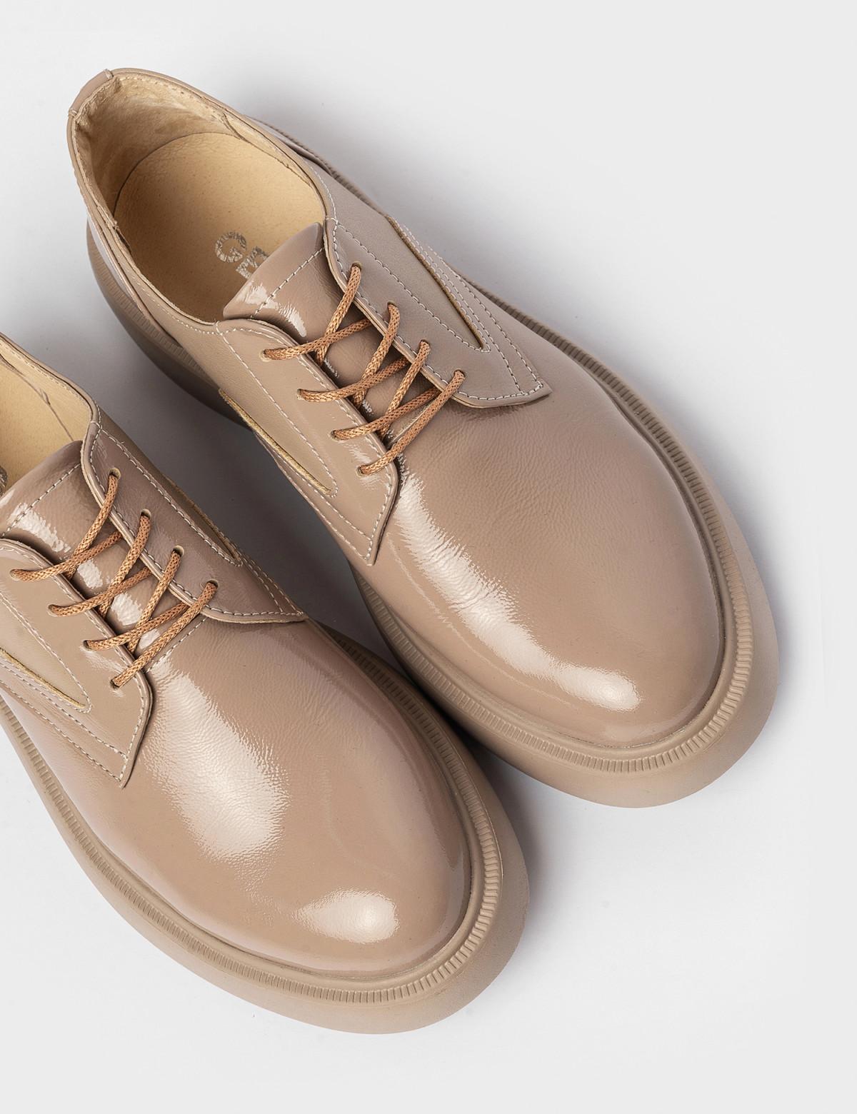 Туфлі бежеві. Натуральна шкіра3