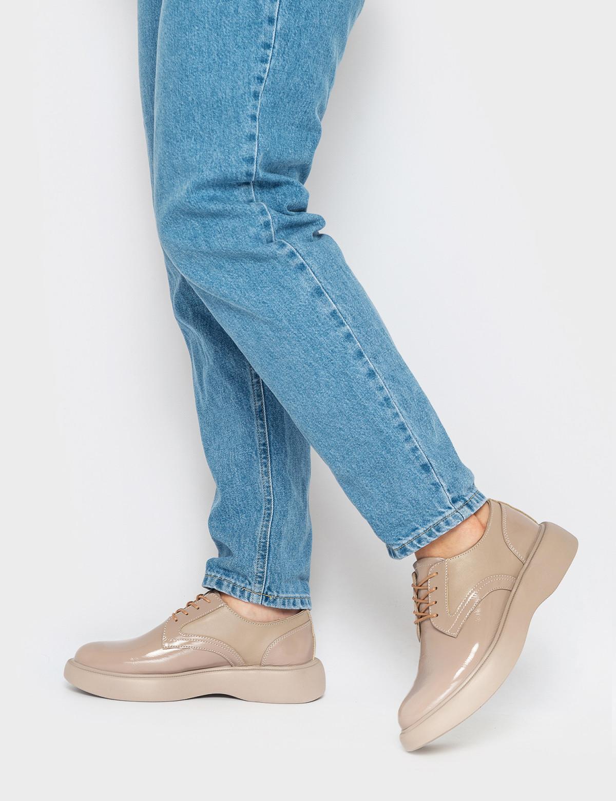 Туфлі бежеві. Натуральна шкіра4
