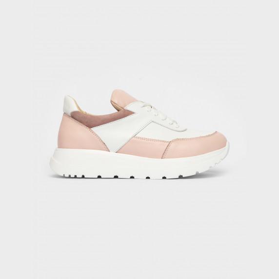 Кросівки білі\бежеві. Натуральна шкіра
