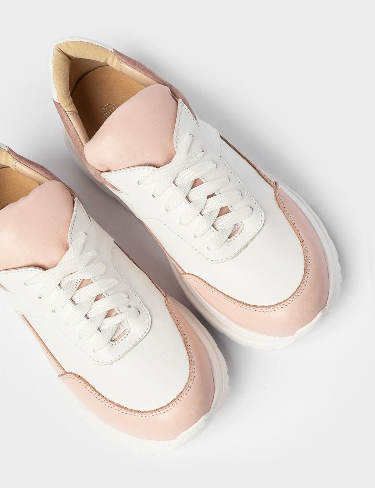 Кросівки білі\бежеві. Натуральна шкіра3