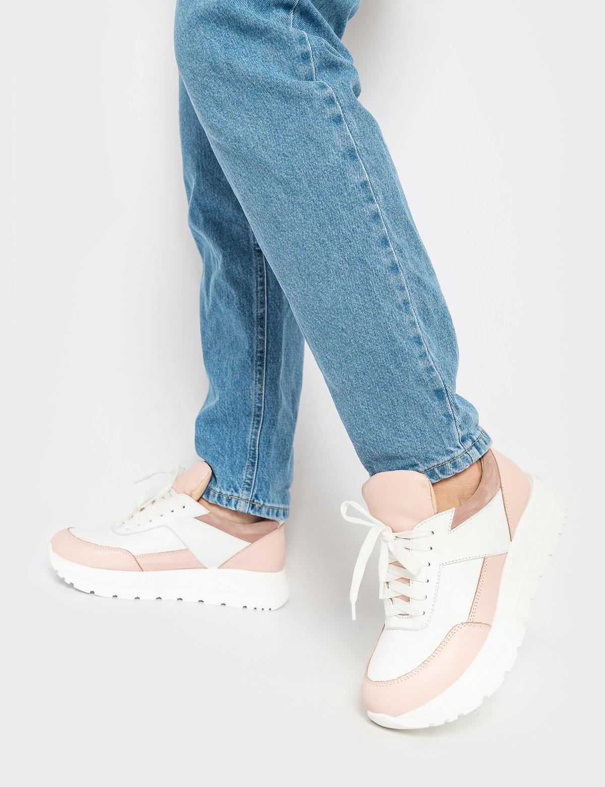 Кросівки білі\бежеві. Натуральна шкіра4