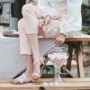 Сандали розовые, натуральная кожа6