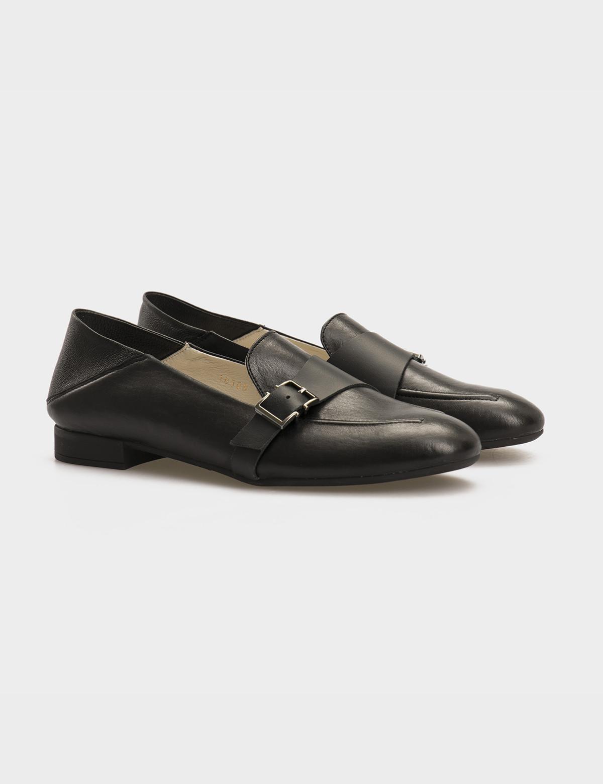 Туфли черные, натуральная кожа 1