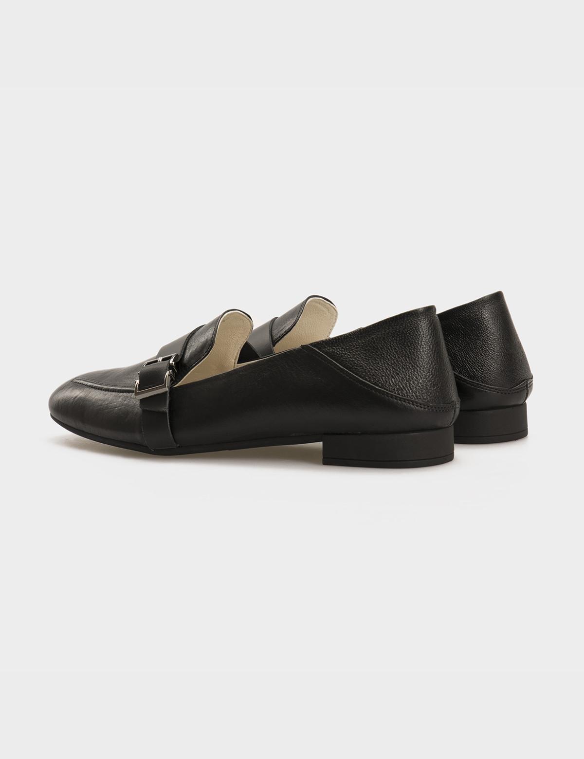Туфли черные, натуральная кожа 2