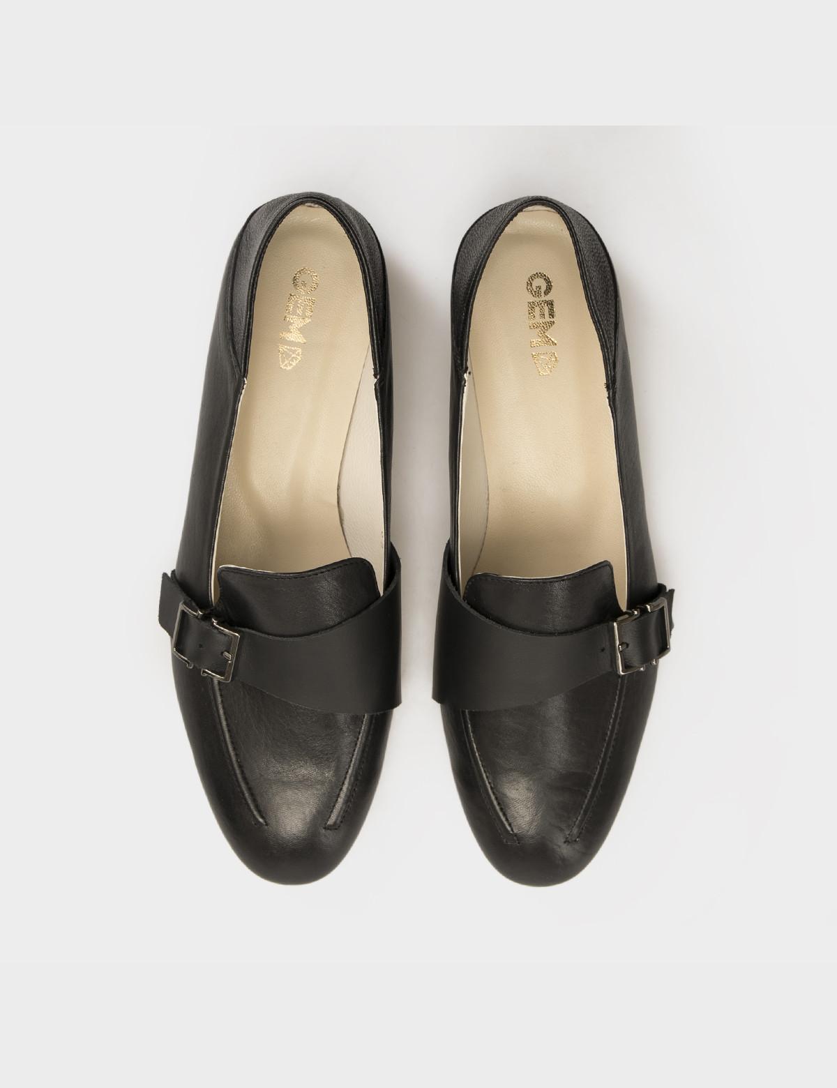 Туфли черные, натуральная кожа 3