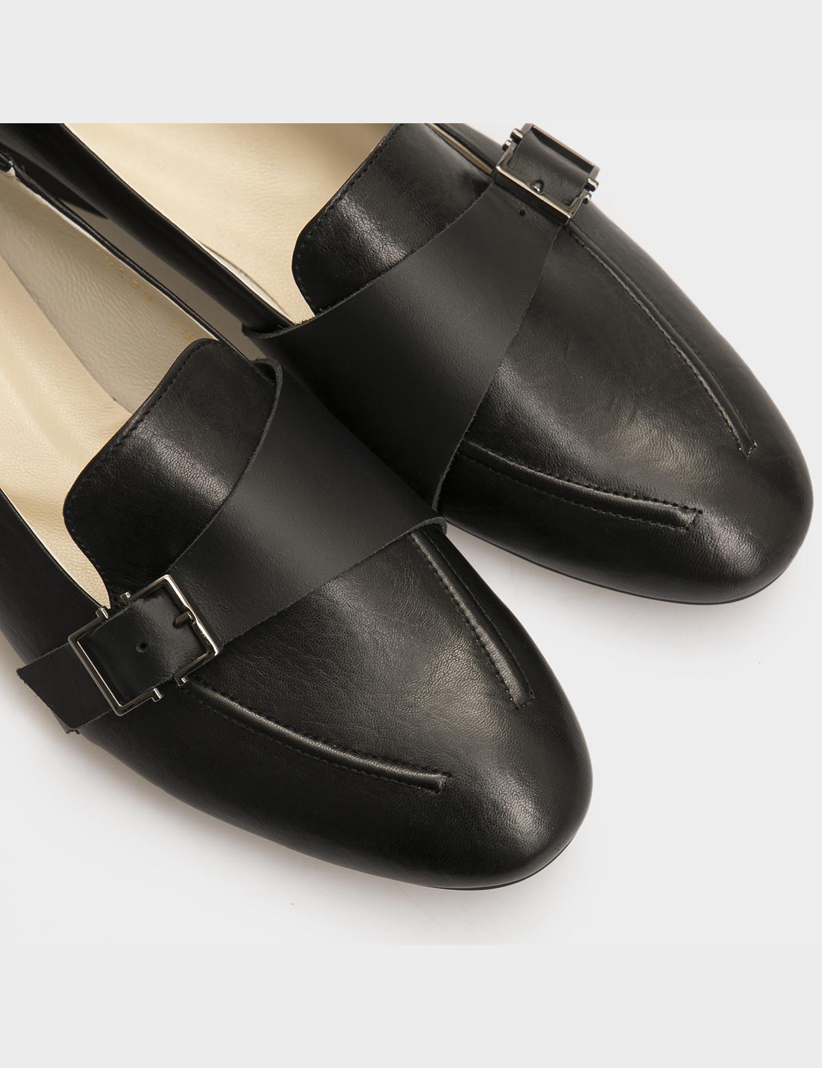 Туфли черные, натуральная кожа 4