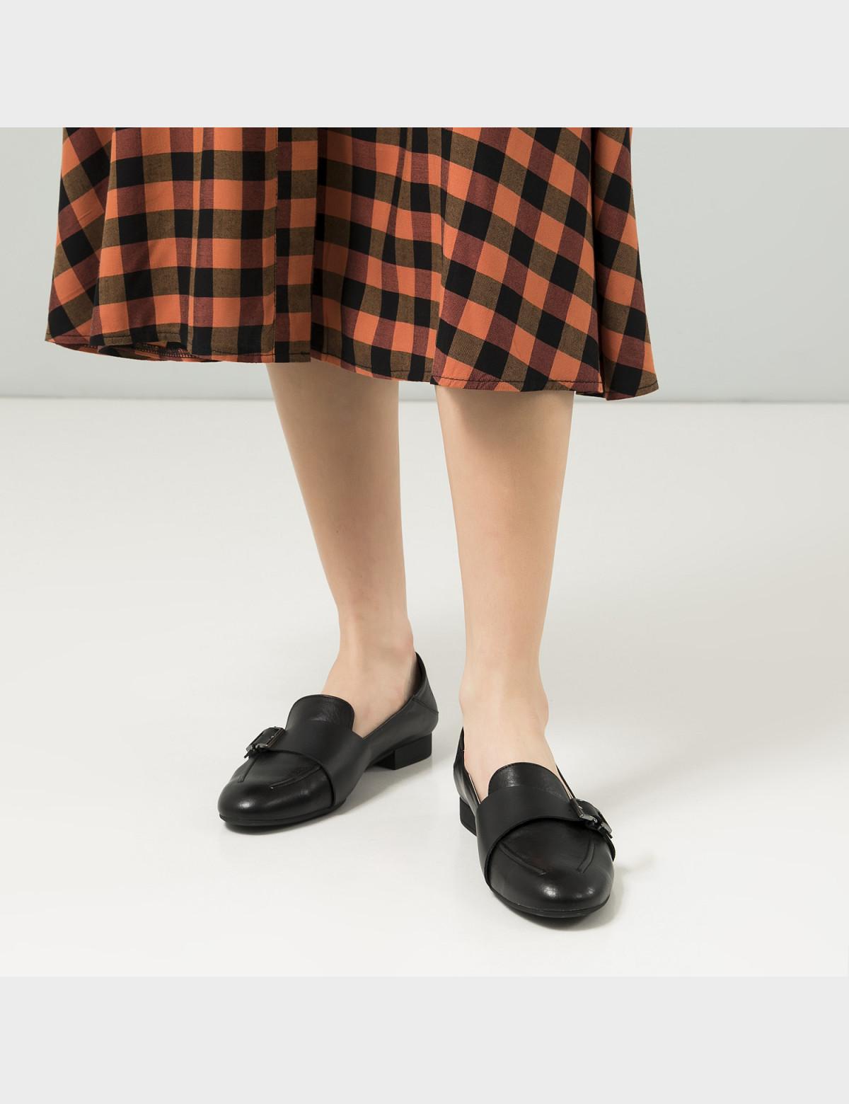 Туфли черные, натуральная кожа 5