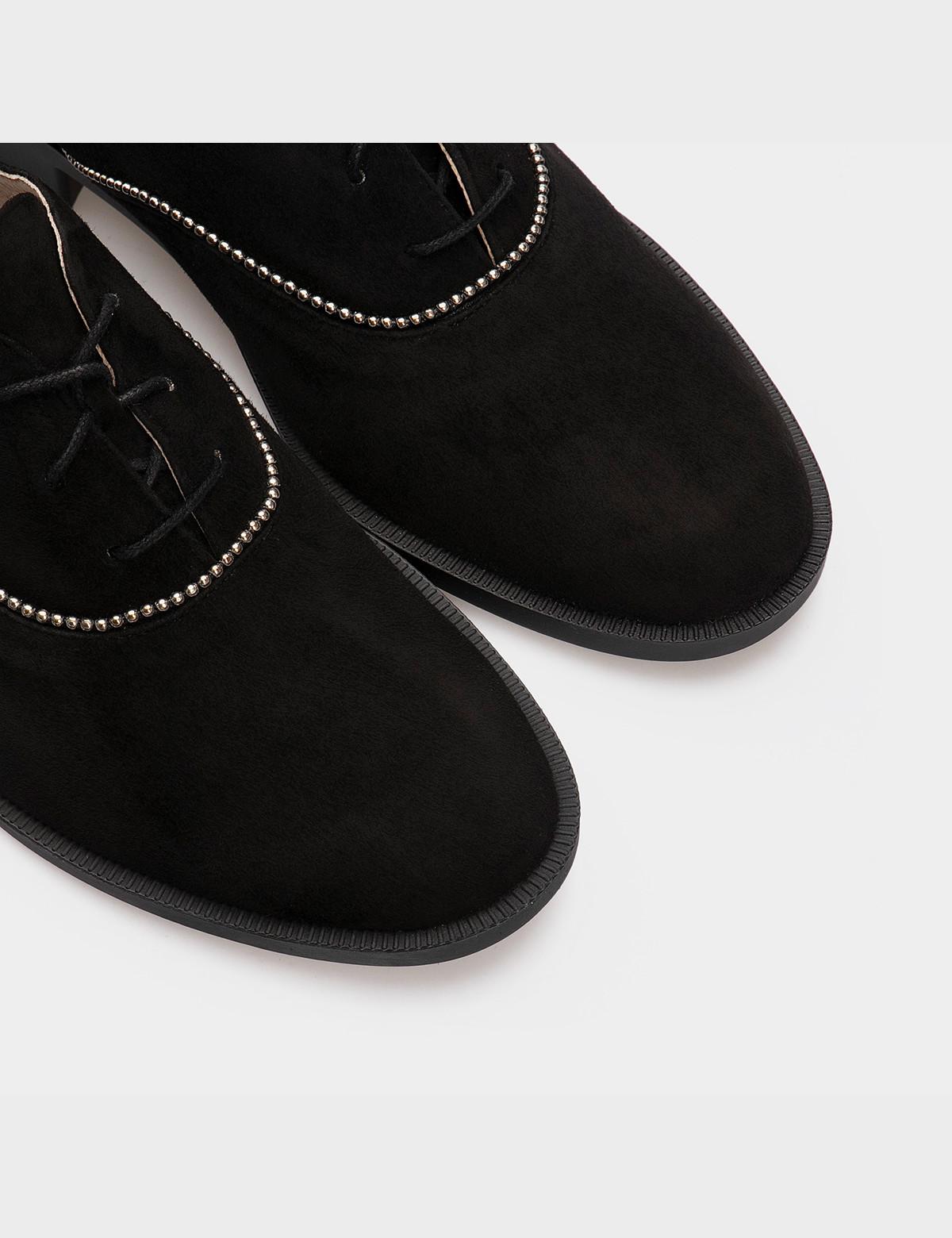 Туфлі чорні, натуральна замша4