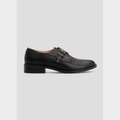 Туфли черные, натуральная кожа