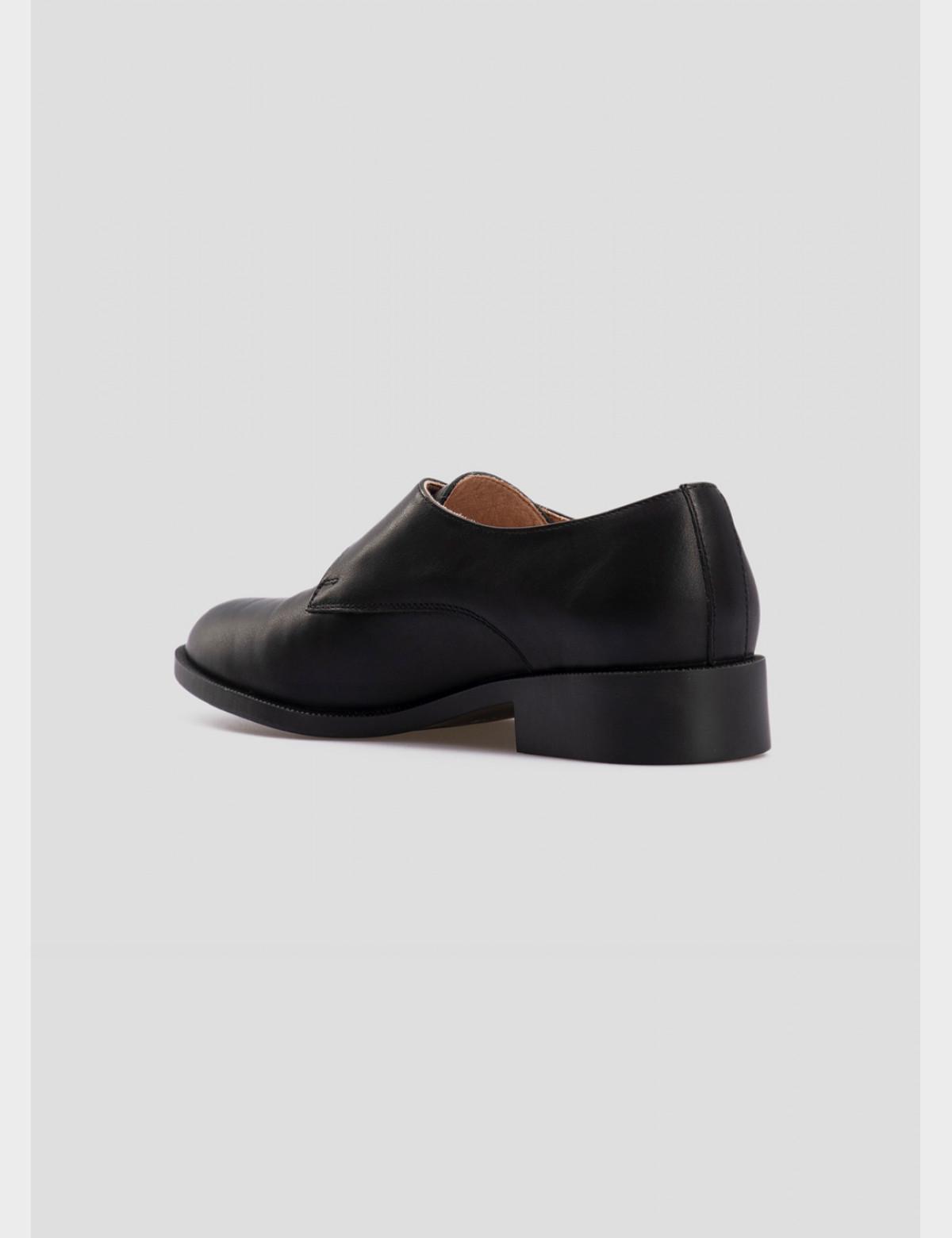 Туфли черные, натуральная кожа3