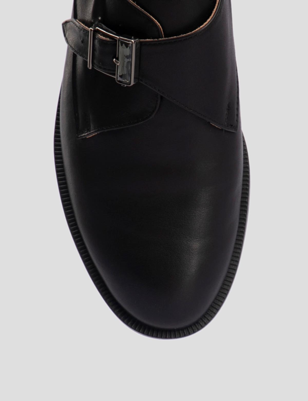 Туфли черные, натуральная кожа4