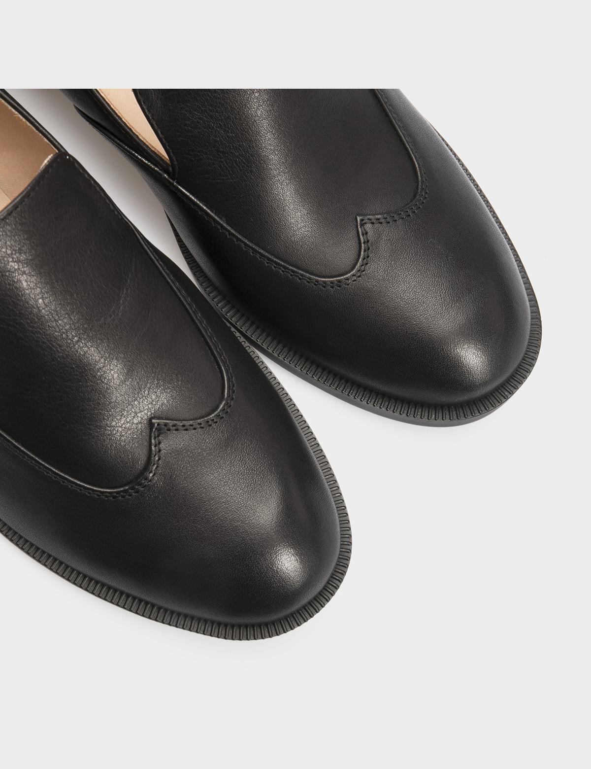 Туфли черные, кожа 3