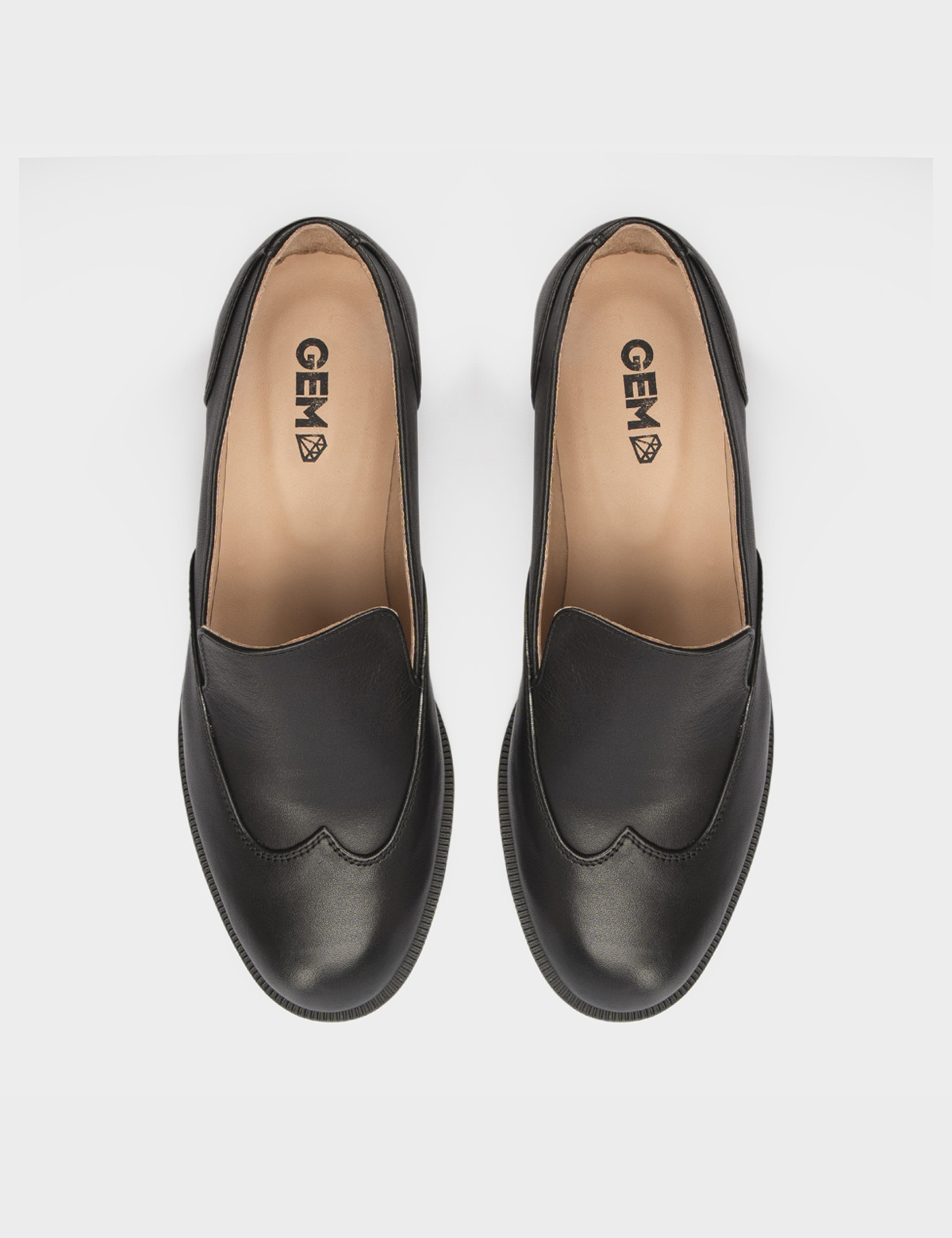 Туфли черные, кожа 4