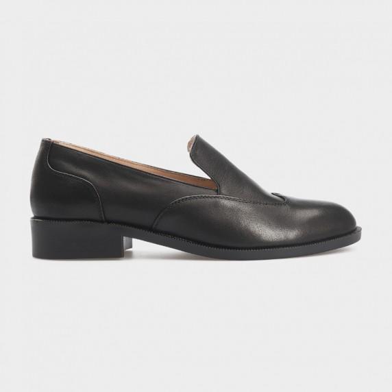 Туфли черные, кожа