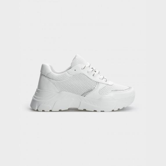 Кросівки білі, натуральна шкіра